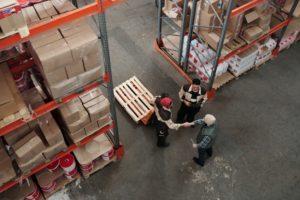 Transportation of warehouses